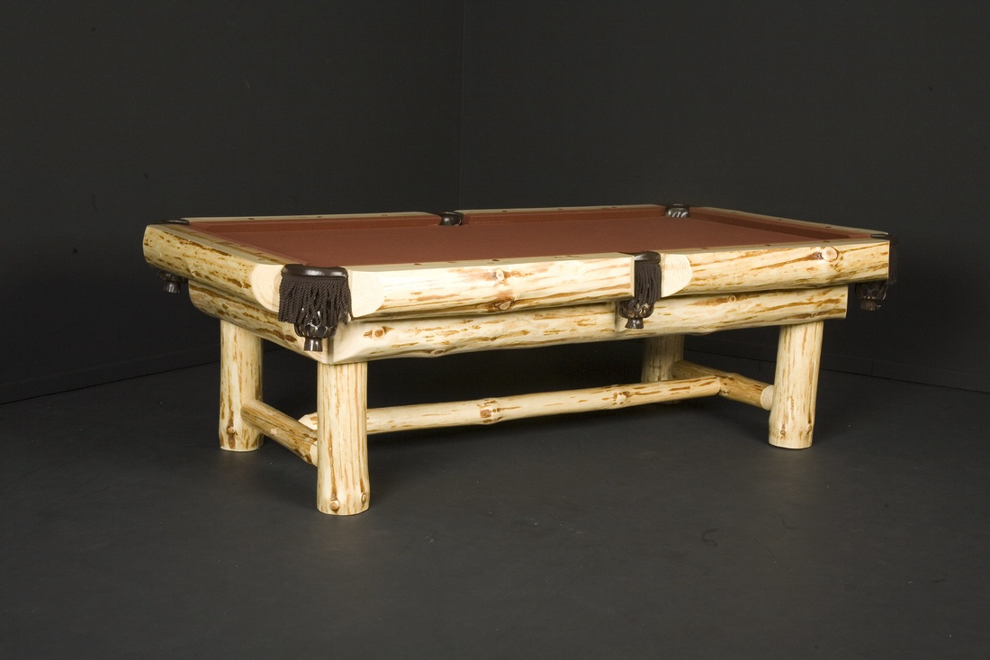 Western Outback Log Pool Tables
