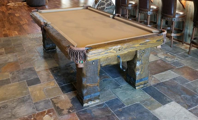 Swell Log Pool Tables Rustic Billiards Download Free Architecture Designs Licukmadebymaigaardcom