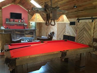 Rustic Log Pool Tables 2020