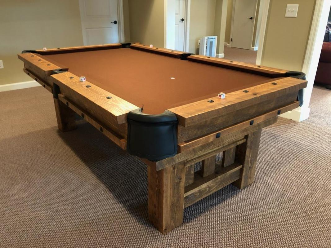 Cool Log Pool Tables Rustic Billiards Download Free Architecture Designs Licukmadebymaigaardcom